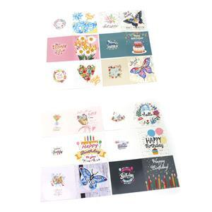 12pcs Diamond Art Greeting Cards Pack with Special Drills EXCLUSIVE