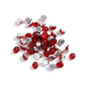 Baroque Oval Cabochon Beads - Rubysol, Approx 8x6mm (20GM)