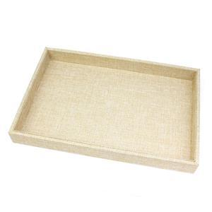 Linen Lined Display Tray, 30x20x3cm (1pc)