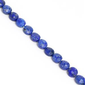 60cts Natural Colour Lapis Lazuli Faceted Coins Approx 6mm, 38cm