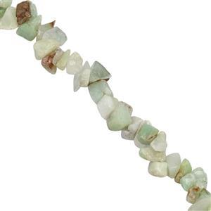 140ct Chrysoprase Plain Nuggets Approx 4x1 to 9x3mm, 84cm Strand
