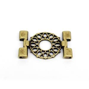 Cymbal Detis - Tila Connector - Antique Brass Plated (1pk)