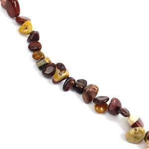 297cts Multi-Colour Mookite Fancy Pear Loose Beads 6x18mm, 38cm Strand