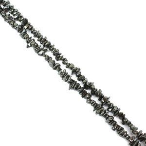 640cts Haematite Small Chips Approx 4x2 - 8x5mm, 60