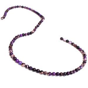 20cts Purple Terra Jasper Plain Rounds Approx 4mm, Approx 38cm/strand