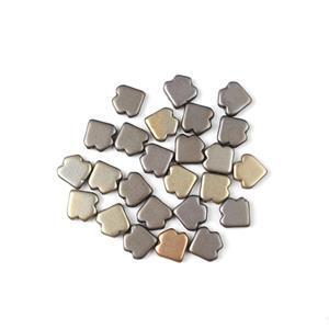 Jewellery Maker Czech Dart Beads by Mark Smith - Zinc Iris (25pcs)