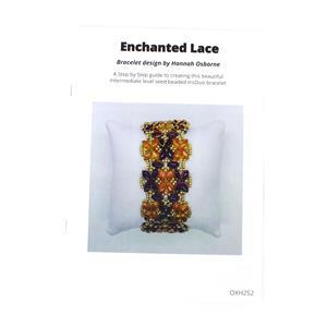 Enchanted Lace Iris Duo Bracelet Booklet by Hannah Osborne