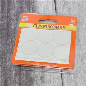 Fuseworks Clear Fusible Rounds 6 x 1