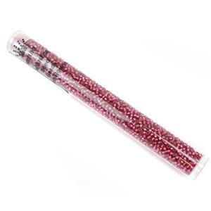 Miyuki Duracoat Silver Lined Dyed Raspberry Beads 11/0 (23GM/TB)