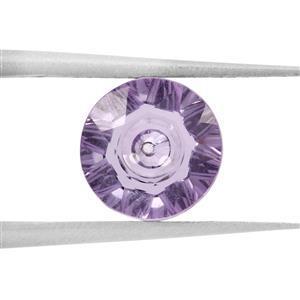 1.35cts Quasar Cut Amethyst 8x8mm Round  (N)