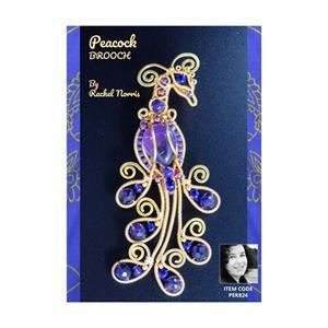 Peacock Brooch Booklet by Rachel Norris
