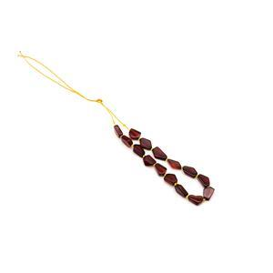 Baltic Cognac Amber Irregular Beads Approx. 9x7-14x8mm, 20cm Strand
