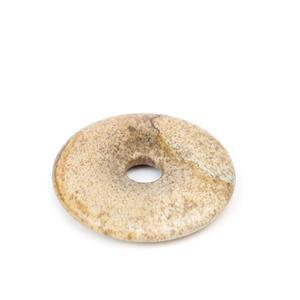 60cts Picture Jasper Donut Approx 40mm,1pk