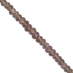 25cts Colour Change Garnet Faceted Rondelles Approx 2.6x1mm to 4x2mm 20cm Strand