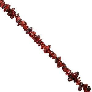 400cts Garnet Bead Nugget Approx 3.5x1 to 11x4mm,150cm Strand
