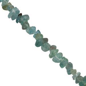 208cts Apatite Small Nuggets Approx 4.15x2.25 to 7.75x3.75mm, 82cm Strand.