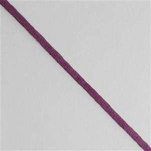 5m Lilac Suedette Cord Approx 1.4x2.5mm