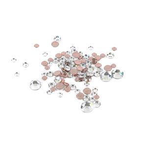 Swarovski XIRIUS Flat Back 2078 (Hot Fix) Mixed Bag 3.1-7.1mm Crystal AHF 100pk
