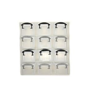 Craft storage with 12 drawers, 22x21x8cm