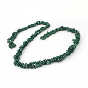 470cts Malachite Small Chips Approx 3x1 - 7x4mm, 60