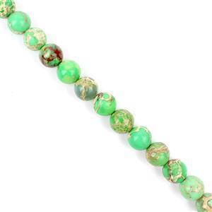 200cts Light Green Variscite Plain Rounds Approx 10mm 38cm
