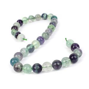 440cts Fluorite Plain Rounds Approx 12mm, 38cm