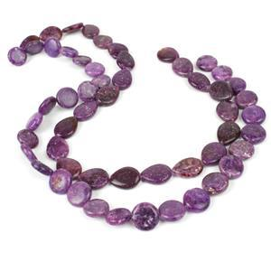 Lepidolite Puffy Pears & Coins, 420cts Total.