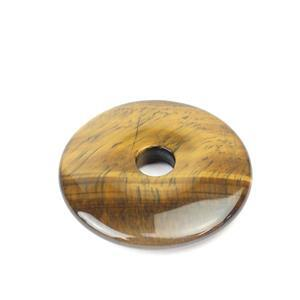 70cts Tigers Eye Donut Approx 40mm,1pk