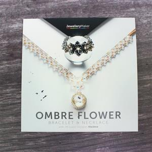 Ombre Flower Bracelet and Necklace with Kleshna DVD (PAL)