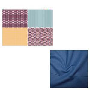 Letter Holder Heart Wall Hanging Fruit Punch Kit: Panel & Fabric (1m)