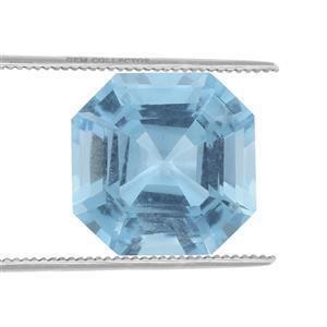 1cts Swiss Blue Topaz 6mm Octagon (IR)
