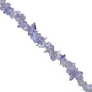 85cts Tanzanite Bead Nugget Approx 2.5x1.5 to 6x1.5mm, 32
