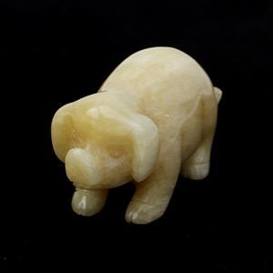 Yellow Calcite Pig Approx 80mm