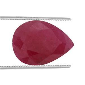1.15cts Burmese Ruby 8x6mm Pear  (H)