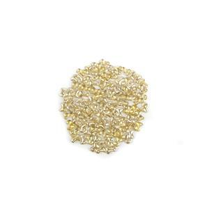 Preciosa Ornela Crystal Honey Tee Beads, 2x8mm (100pcs)