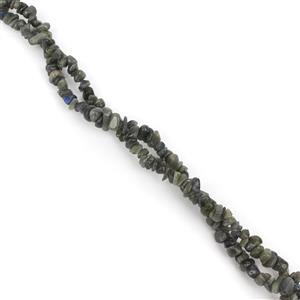 880cts Labradorite Chips Approx 4x7 to 5x8mm, 100