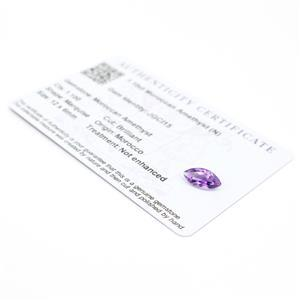 1.1cts Moroccan Amethyst 12x6mm Marquise  (N)