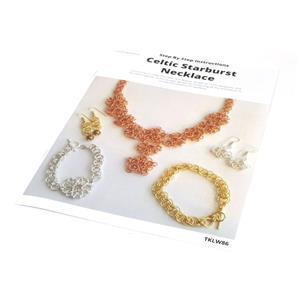 Celtic Starburst Chainmaille Necklace by Laura Binding