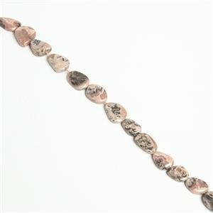 Freesize Rhodochrosite Bead Strand Approx 15mm