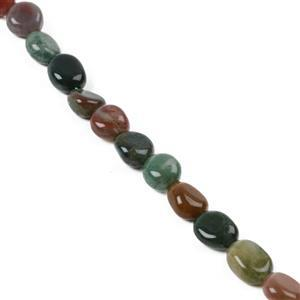 130cts Fancy Jasper Polished Small Nuggets Approx 10x8mm, 38cm Strand