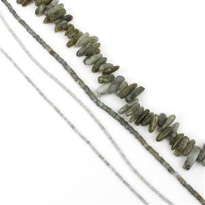 Labradorite Bundle! 4 Strands
