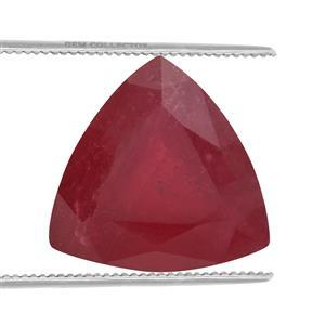 3.25cts Malagasy Ruby 10x10mm Triangle  (F)