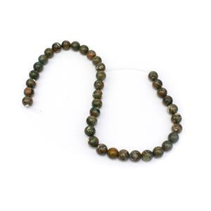 260cts Rhyolite Plain Rounds Approx 10mm, 38cm Strand