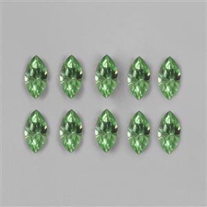 Swarovski Peridot Navette Beads 4228 - 10x5mm, 12pk