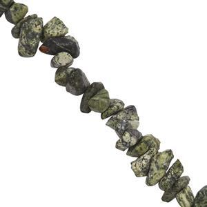 250cts Serpentine Plain Nuggets Approx 6x2 to 10x5mm, 84cm Strand