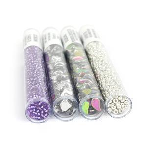 Siren's Song;  Czech Glass Ginko & Paisley Beads, Miyuki 8/0 & 11/0