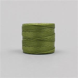 Beadsmith 70m Avocado S-Lon Cord Approx 0.4mm