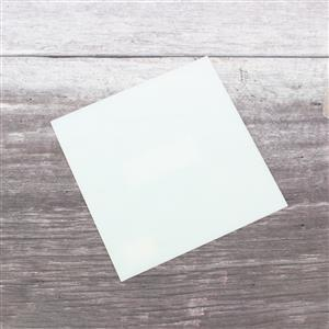 Fuseworks 90 COE White Sheet Glass, 6x6
