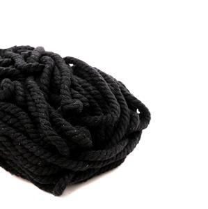 Black Macrame Rope, 5mm (30m)