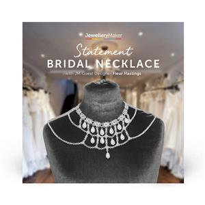 Statement Bridal necklace with Fleur Hastings DVD (PAL)